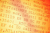 Programovací kód — Stock fotografie