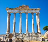 Columns on Rome Forum — Stock Photo