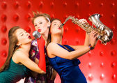 Musical band — Stock Photo