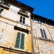 Traditional Italian old houses — Stock Photo