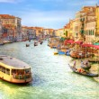 Stock Photo: Venice Grand Canal view