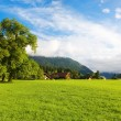 Alps morning landscape — Stockfoto