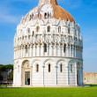 Baptistry of the cathedral — Stock Photo #1328779