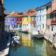 Small canal in Venice Italy — Stock Photo