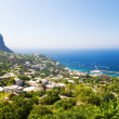 Capri island in Italy — Stock Photo