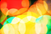 Abstract unfocused lights background — Stock Photo