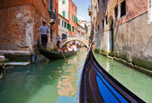 Gondola trip — Stock Photo