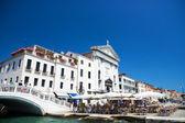 Quay of Venice Italy — Stock Photo