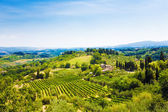 Traditional Toscana Italy landscape — Stock Photo