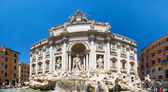 Trevi fountain in Rome Italy — Stock Photo