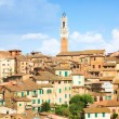 Foto de Stock  : Roofs on traditional Italibuildings