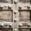 Old wooden wall texture - Stock Photo