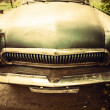Royalty-Free Stock Photo: Old car front view