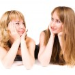 Two women looking go each other — Stock Photo #1332184