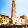 Stock Photo: Square of Verona Italy