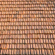 Tile on a roof — Stock Photo