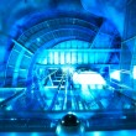 Abstract futuristic machine — Stock Photo