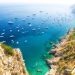 Italian Mediterranean sea coast - Stock Photo