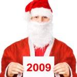 Santa Claus 2009 — Stock Photo #1348647