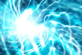 Abstract blue energy flow — Stock Photo