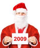 Santa Claus 2009 — Stock Photo