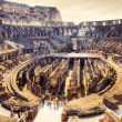Stock Photo: Inside Coliseum