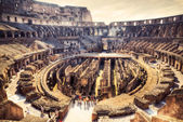 Inside Coliseum — Stock Photo