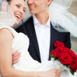 Young wedding couple — Stock Photo #1368985