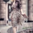 Young woman walking — Stock Photo #1369086