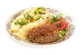 Dinner meal — Stock Photo