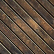 Stock Photo: Dark old wood