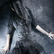 Foto de Stock  : Goth womfashion
