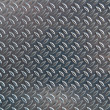 Chequer metal texture - Foto de Stock  