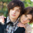 Young couple portrait — Stock Photo #1372796