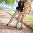 Young couple fashion — Stock Photo #1372820