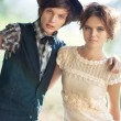 Young couple fashion - Stock Photo