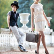 Young couple fashion — Stock Photo