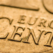 Euro cent - Stock Photo