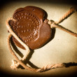 Sealing wax stamp - Stockfoto