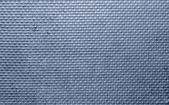 Ribbed metal texture with blue tint — Stock Photo