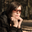 Portrait of woman in glasses — Stock Photo #1651990