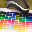 Stock Photo: Color calibrator
