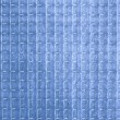 Blue opaque glass texture — Stock Photo