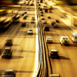 Royalty-Free Stock Photo: Highway with lots of cars
