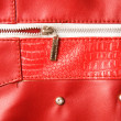 Pocket with zipper — Stock Photo