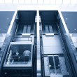 Lift in business center — Stock Photo #1652255