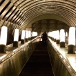 Underground escalator - Foto de Stock  