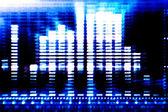 Abstract-blue-Tech-Hintergrund — Stockfoto