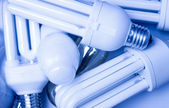Fluorescent lamps — Stock Photo