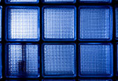 Blue opaque glass — Stock Photo
